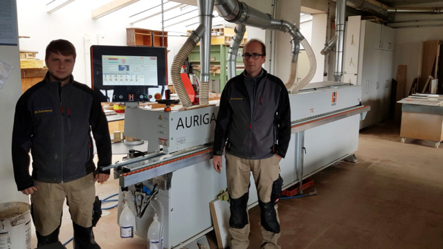 Our reference customer Spitzmüller und Klein on the road to success with the AURIGA 1308 XL