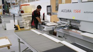 HOLZHER Australia reference customer Janper - ACCURA edgebanding machine