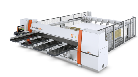 The ZENTREX 6220 lift from HOLZ-HER is the complete solution with solid elevating table for a high throughput mass production