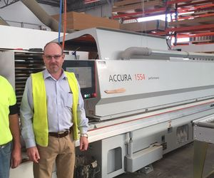 HOLZHER Australia reference customer Timberline mit edgebanding machine ACCURA