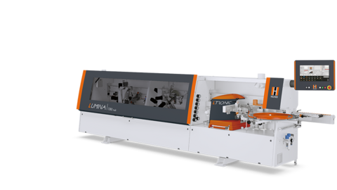 Edge banding machine LUMINA 1380 multi with multifunctional milling technology