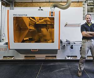 Maximum precision with 5-axis CNC machine from HOLZHER