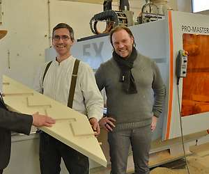 State-of-the-art wood processing with digital CNC technology