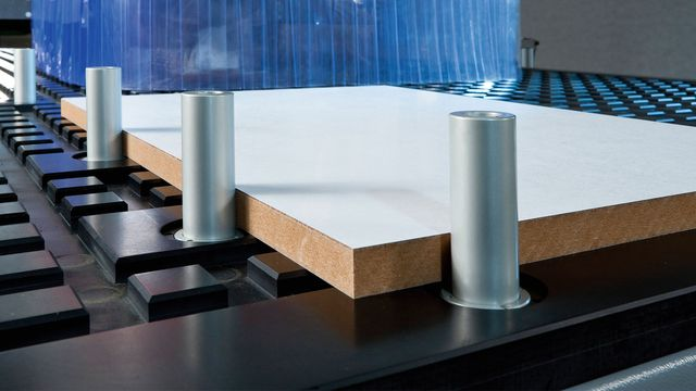 High-Flow Nesting Table - Nesting Technology for rational production